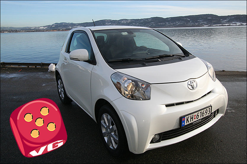 test av toyota iq verdens minste fireseter biltest vg. Black Bedroom Furniture Sets. Home Design Ideas