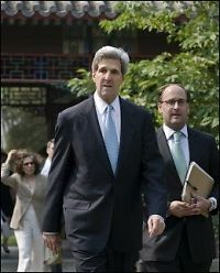 Kerry: - Kina støtter sanksjoner mot Nord-Korea