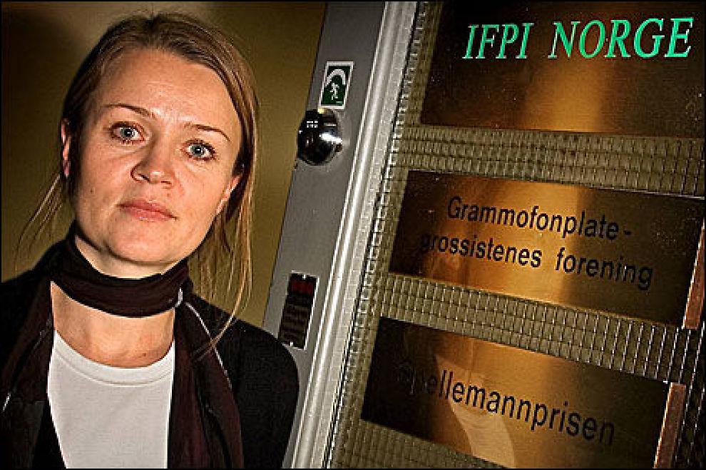 GÅR RETTENS VEI: Platebransjen og med Marte Thorsby fra IFPI i spissen har søkt en midlertidig forføyning mot Telenor.Foto: Aftenposten
