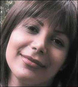 MARTYR: Et annet bilde av Neda med mørkt hår som nå spres på nettet. Foto: AFP