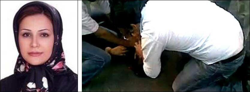 NEDA: Neda har blitt symbolet for demokratibevegelsen i Iran. Foto: Privat / YouTube