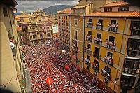 Okseløp-festivalen i Pamplona er i gang