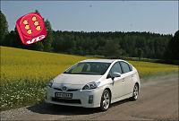 Test av Toyota Prius: Større og renere