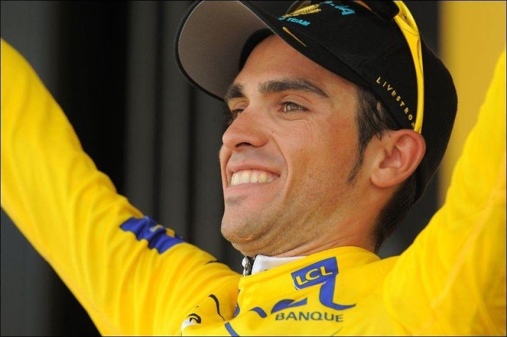 VANSKELIG AVGJØRELSE: Alberto Contador sykler ikke i VM. Foto: AFP