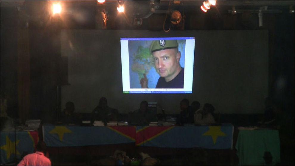 BILDEBEVIS: Dette bildet av Rune Folkedal ble lagt frem som bevis i rettssaken i Kongo mandag. Bildet er tatt i 2006 ifølge Folkedal. Foto: Roar Dalmo Moltubak