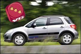 Suzuki SX4. Foto: Jan Petter Lynau Foto: