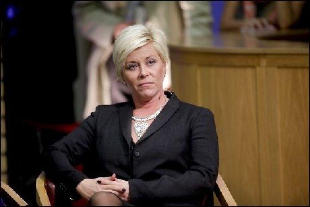 KRITISK: Frp-leder Siv Jensen mener Nobelkomiteen har falt for fristelsen til å dele ut prisen til en kandidat som vil gi stor oppmerksomhet til Norge. Foto: