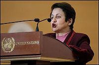 Ebadi med skarp kritikk av USA