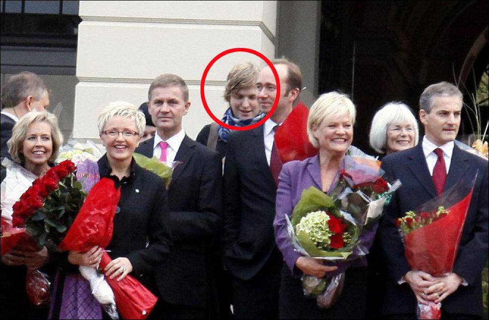 UKJENT MEDLEM: Åsmund Aukrust ble fotograf sammen med regjeringen på Slottsplassen. Foto: Knud Erik Knudsen