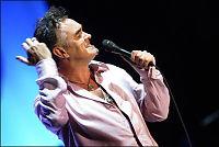 Morrissey spøkte om kollapsen