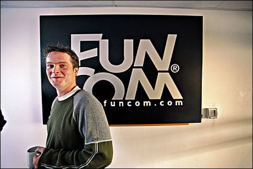 NYTT FRA FUNCOM: Jørgen Tharaldsen i Funcom er «game director» for det nye spillet «På kant med verden» («Board With the World»). Foto: ESPEN S. HOEN