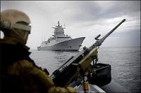 Norske soldater i skuddveksling utenfor Somalia