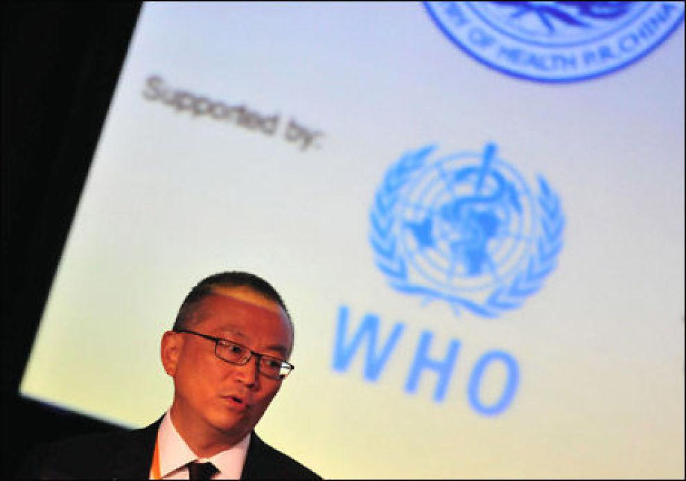 WHO: WHOs nestleder og pandemisjeg Keiji Fukuda har mye å henge fingrene i for tiden. Foto: AFP