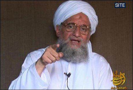 UTENRIKSMINISTER? Ayman Zawahiri, al-Qaidas nestkommanderende, nevnes som et mulig navn som utenriksminister i et islamsk kalifat. Foto: AFP