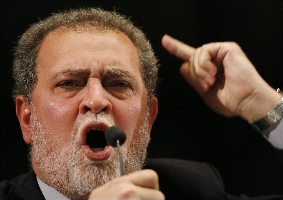 INTERVJUET KREKAR: Hamas-støttespilleren Azzam Tamimi intervjuet selv Mulla Krekar. Foto: REUTERS