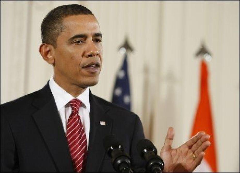 STERKE MENINGER: Barack Obama aber Pakistan fjøre mer for å ta terrorister. Foto: Reuters