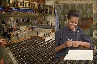 Michelle Obama må sitte blant publikum
