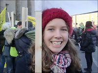 Rannveig (22) arrestert under klima-bråket