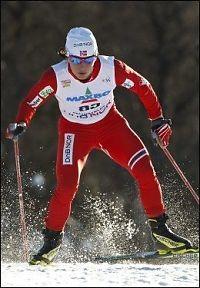 Bjørgen beste norske i Davos