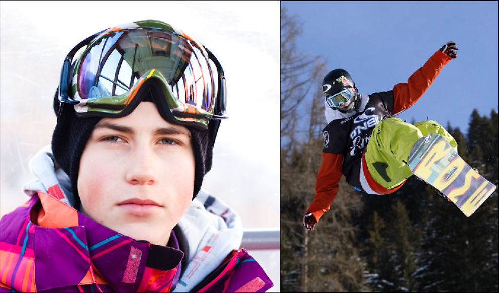 UNG OG GOD: Ståle Sandbech (16) gjorde sine saker bra i Davos i fredag. Nå nærmer han seg OL. Foto: Roger Hjelmstadstuen / AP.