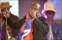Stjernene sang for Haiti i natt