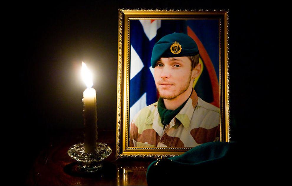 DREPT: Claes Joachim Olsson ble drept da en veibombe gikk av under kjøretøyet han satt i i Afghanistan mandag. Foto: Lars Kroken, Forsvaret