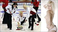Curlingstjerner kaster klærne