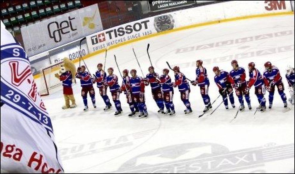 MESTERE: Vålerenga sikret seriegullet med 2-1-seier over Lillehammer fredag kveld. Foto: Scanpix