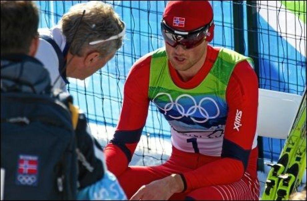 VINNER I KVELD? Petter Northugs siste sjanse til å ta individuelt gull er her. Foto: Aftenposten