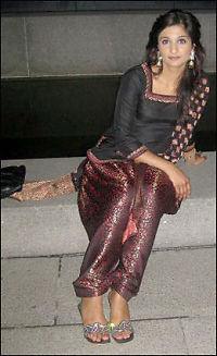 Her «dreper» Faiza-siktet i gangstervideo