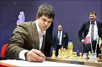 Carlsen skal spille blindsjakk i Nice