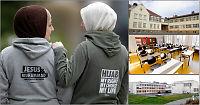 Forbyr caps og lue på skolen - men hijab er lov