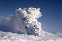 Vulkansk aske fra Island kan hindre flytrafikken