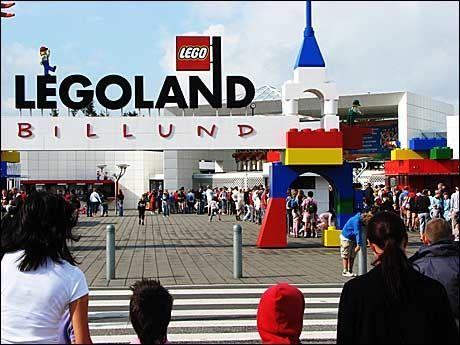 danske MILFs kort over Legoland