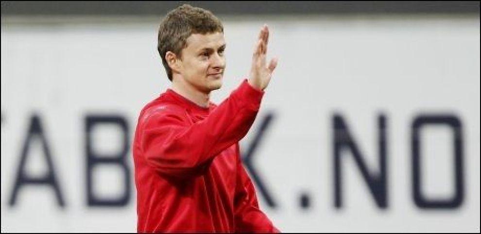 LEGENDE: Ole Gunnar Solskjær, her fotografert i forbindelse med United-reservenes kamp mot Stabæk. Foto: Scanpix