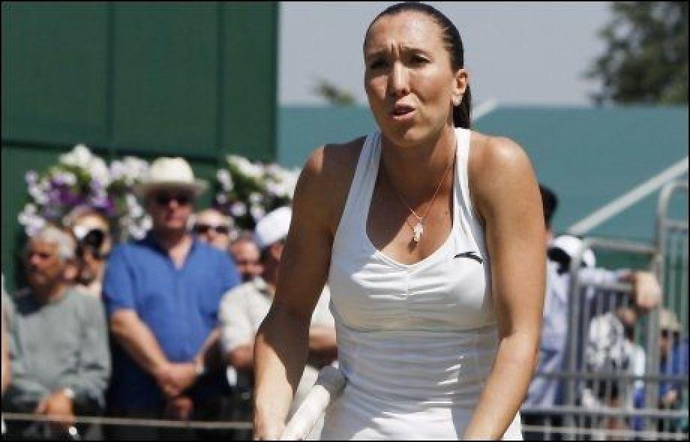 TRAKK SEG: Jelena Jankovic. Foto: AP