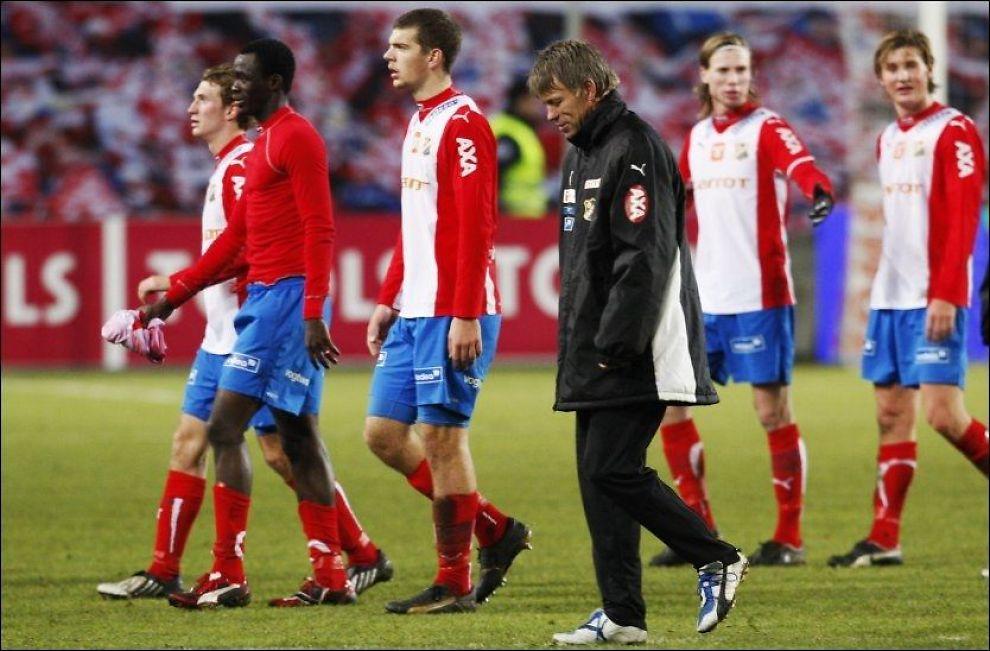 LEGGER INN ÅRENE: Fotballklubben Lyn. Foto: Scanpix