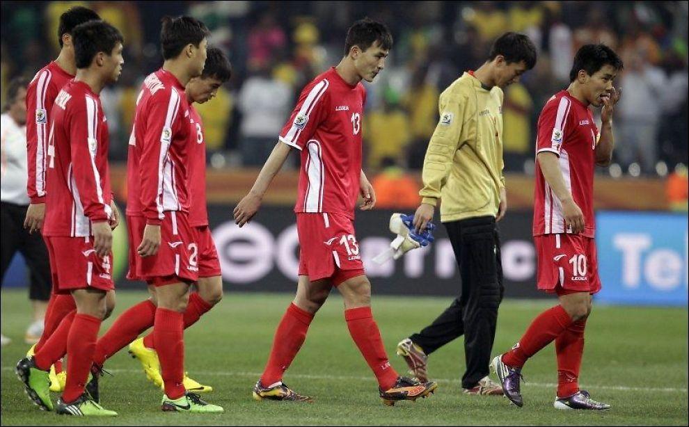 Nord-Koreas VM-tropp offentlig ydmyket i seks timer ...