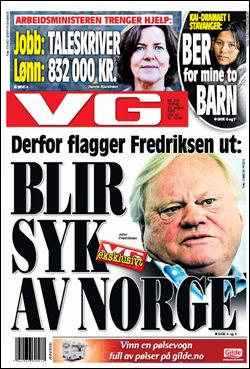 Les mer om denne saken i dagens papirutgave av VG! Faksimile: VG (24.08.2010)