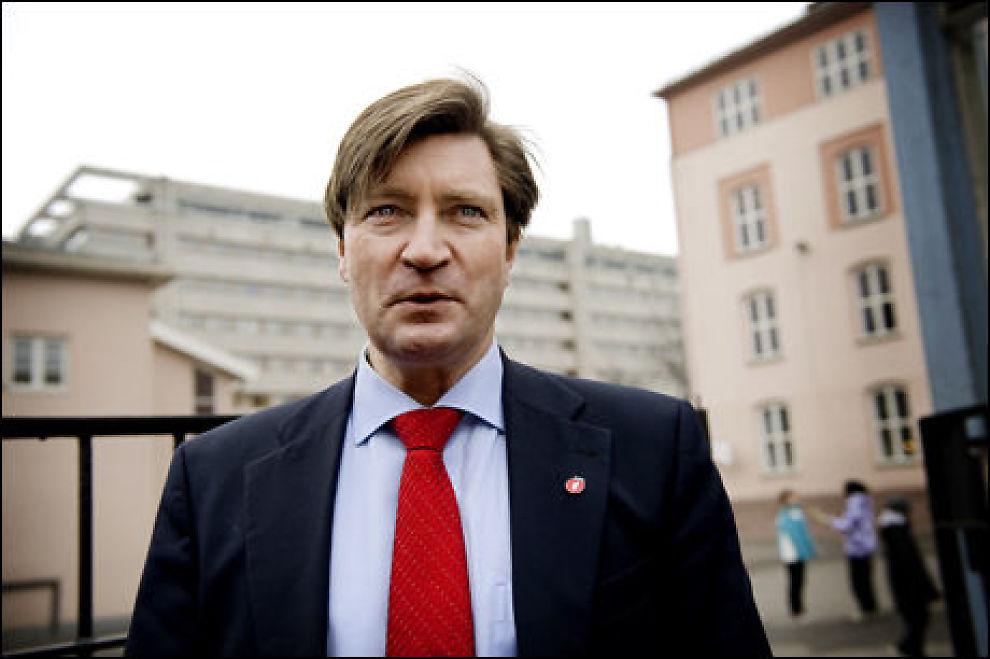 MOT FLERKULTUR: Leder av Oslo Frp, Christian Tybring-Gjedde har skrevet en kronikk i Aftenposten der han tar et oppgjør med flerkulturelle Norge. Foto: Line Møller