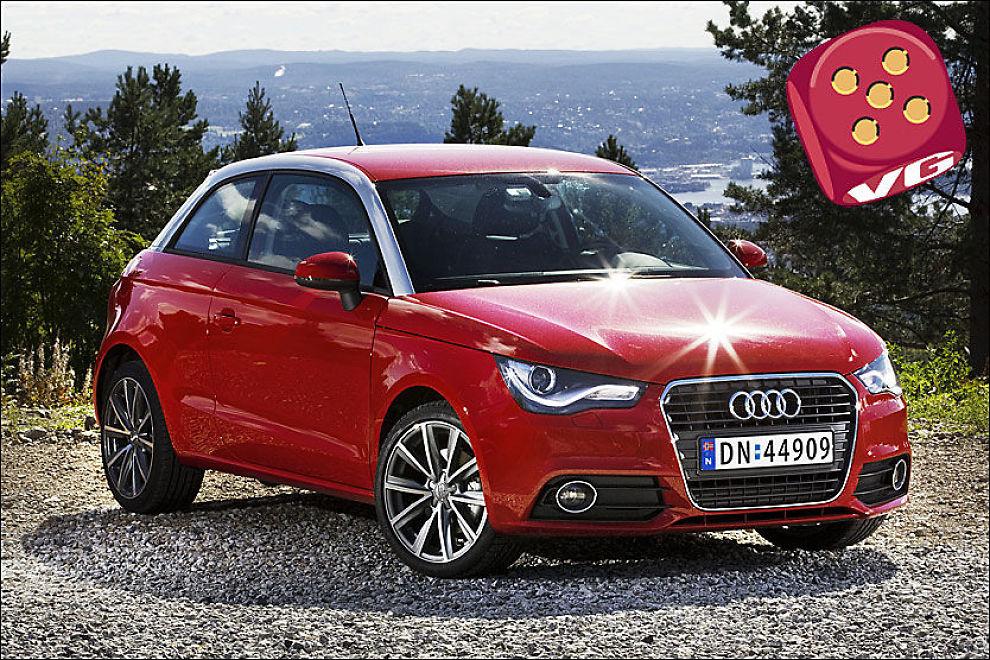 FØRSTE SMÅBIL: A1 er Audis minste bil siden 70-tallet, og en småbil på godt og vondt. Foto: Frode Hansen