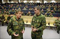 Soldater sparket for dårlige holdninger