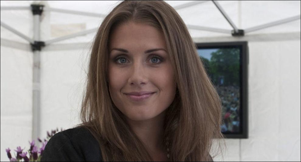 SIER UNNSKYLD: Tone Damli Aaberge beklager at hun har lagt ut en ulovlig konkurranse på sin blogg. Foto: Åge Pedersen, VG.