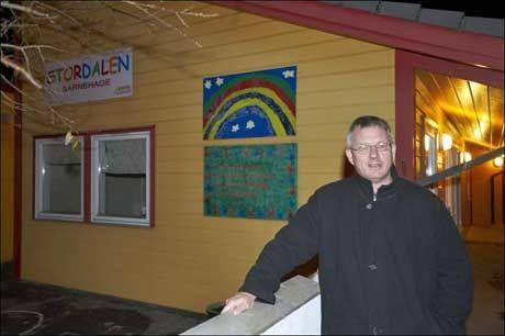 TRENGTE BARNEHAGEPLASS: Benn Eidissen startet barnehage da han slet med å få barnehageplass. Nå driver han 31 barnehager sammen med barndomsvennen Even Carlsen. Foto: Anders Vanderloock