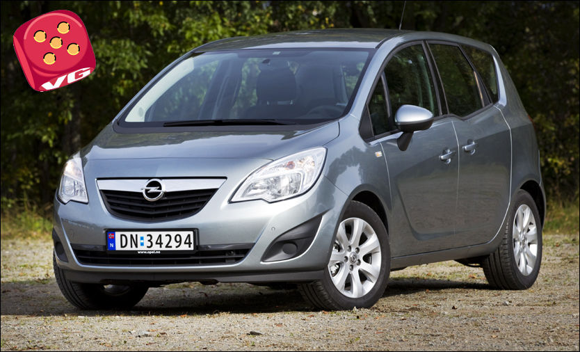 test av opel meriva i en egen klasse biltest vg. Black Bedroom Furniture Sets. Home Design Ideas