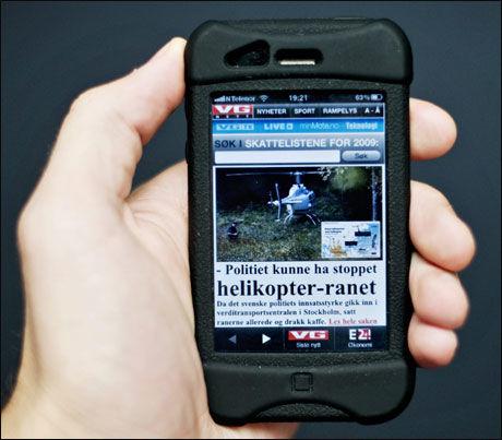 N er mobilen snart st rst mobil og tele vg for Griffith motors home pa