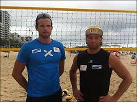 Bandekrig kan stoppe OL-trening for sandvolleyballproffer