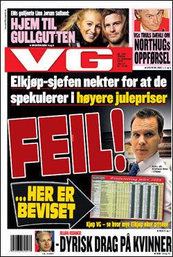 Faksimile: VG (21.12.2010)