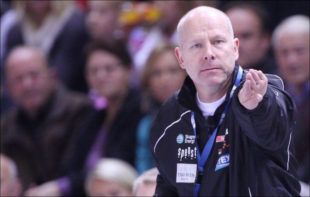 FIKK SPARKEN: Karl Erik Bøhn har forhandlet med Larvik om en sluttpakke, uten å komme til enighet. Foto: Pål Terje Støtvig, VG