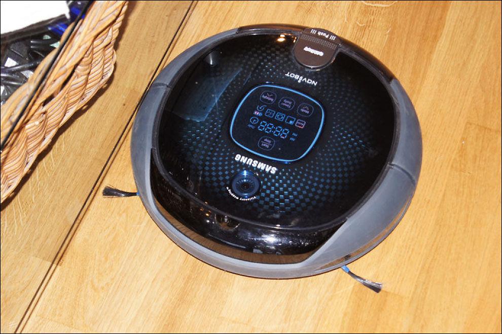 HØYEST SCORE: Samsungs Navibot SR8855 begeistret i testen. Foto: Ida Lindvall